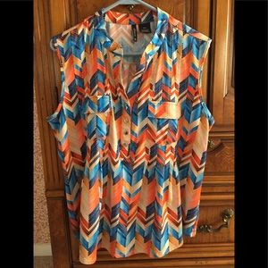 Lightweight,colorful blouse